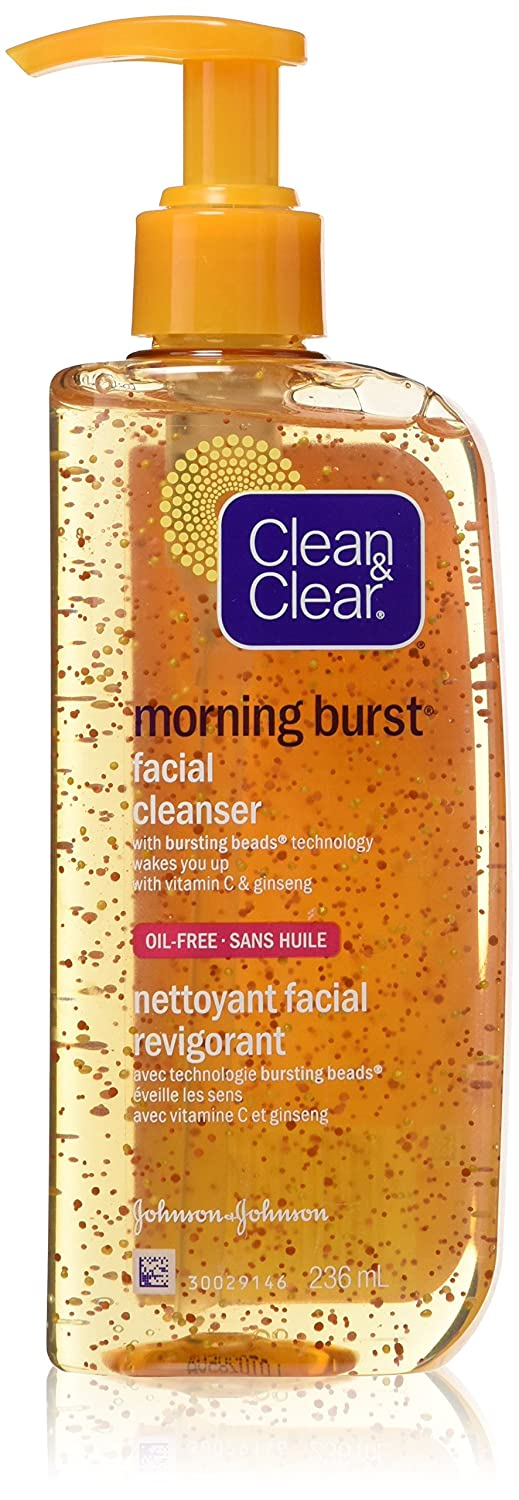 Clean & Clear Morning Burst Facial Cleanser, 236 ml