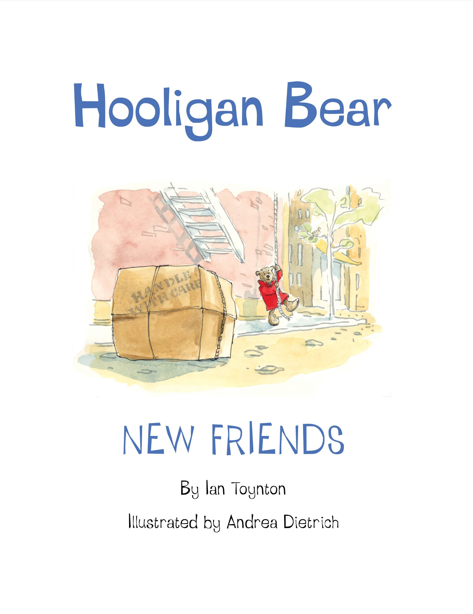 Hooligan Bear Friends Ian Toynton product image