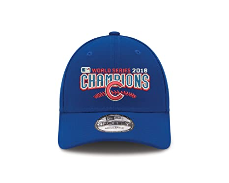 Image Unavailable. Image not available for. Color  Chicago Cubs New Era  2016 World Series Champions 9Forty Adjustable Hat ... ef8abb55c062