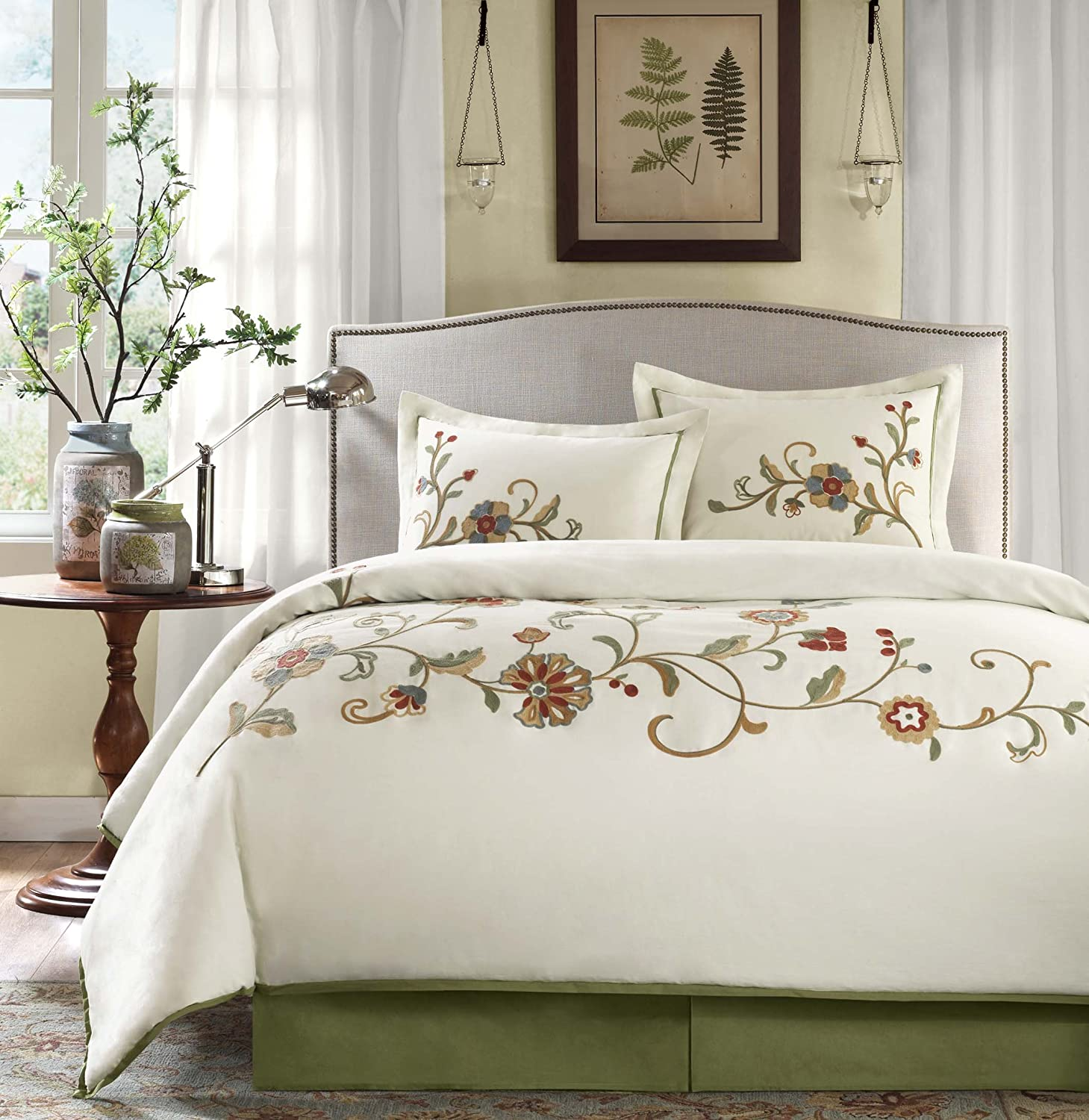 Harbor House Madeline Comforter Set, King, Ivory