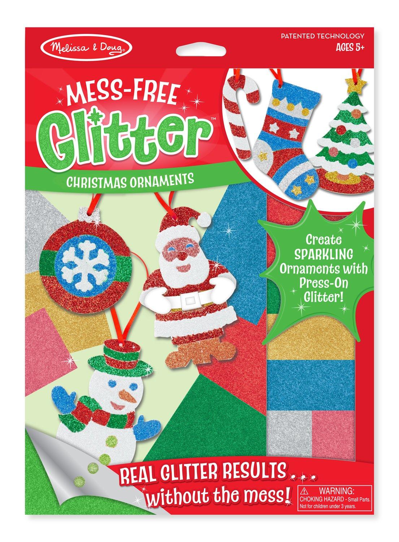 Mess Free Glitter Ornaments Set by Melissa & Doug