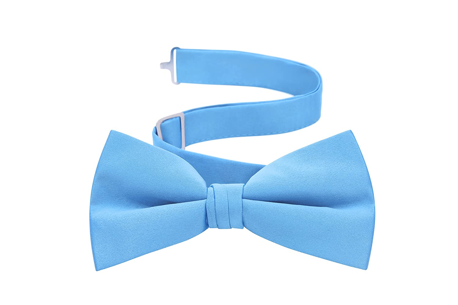 Men's Formal Tuxedo Bow Tie - Pre-tied with Adjustable Strap