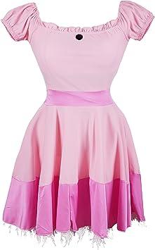 Disfraz de Emmas Wardrobe de la Princesa Peach - Incluye Vestido ...