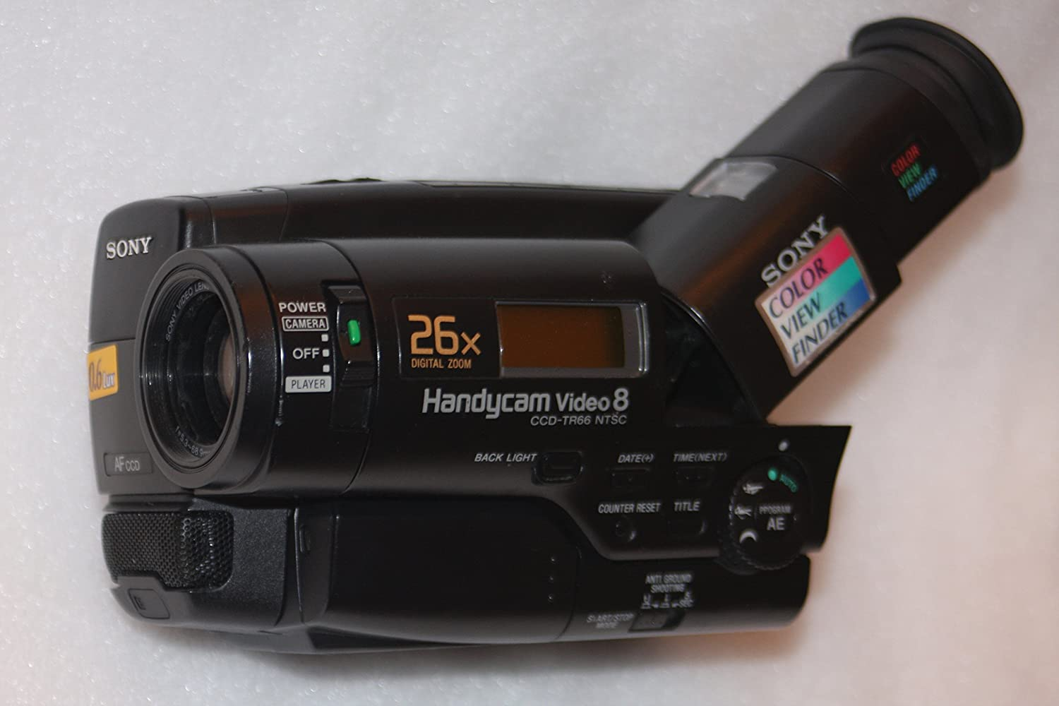 SONY CCD-TR66 Video8 Camcorder