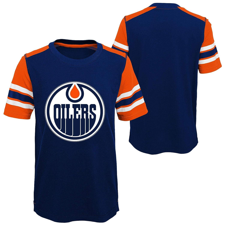 Edmonton Oilers Youth Crashing The Net T-Shirt Outerstuff