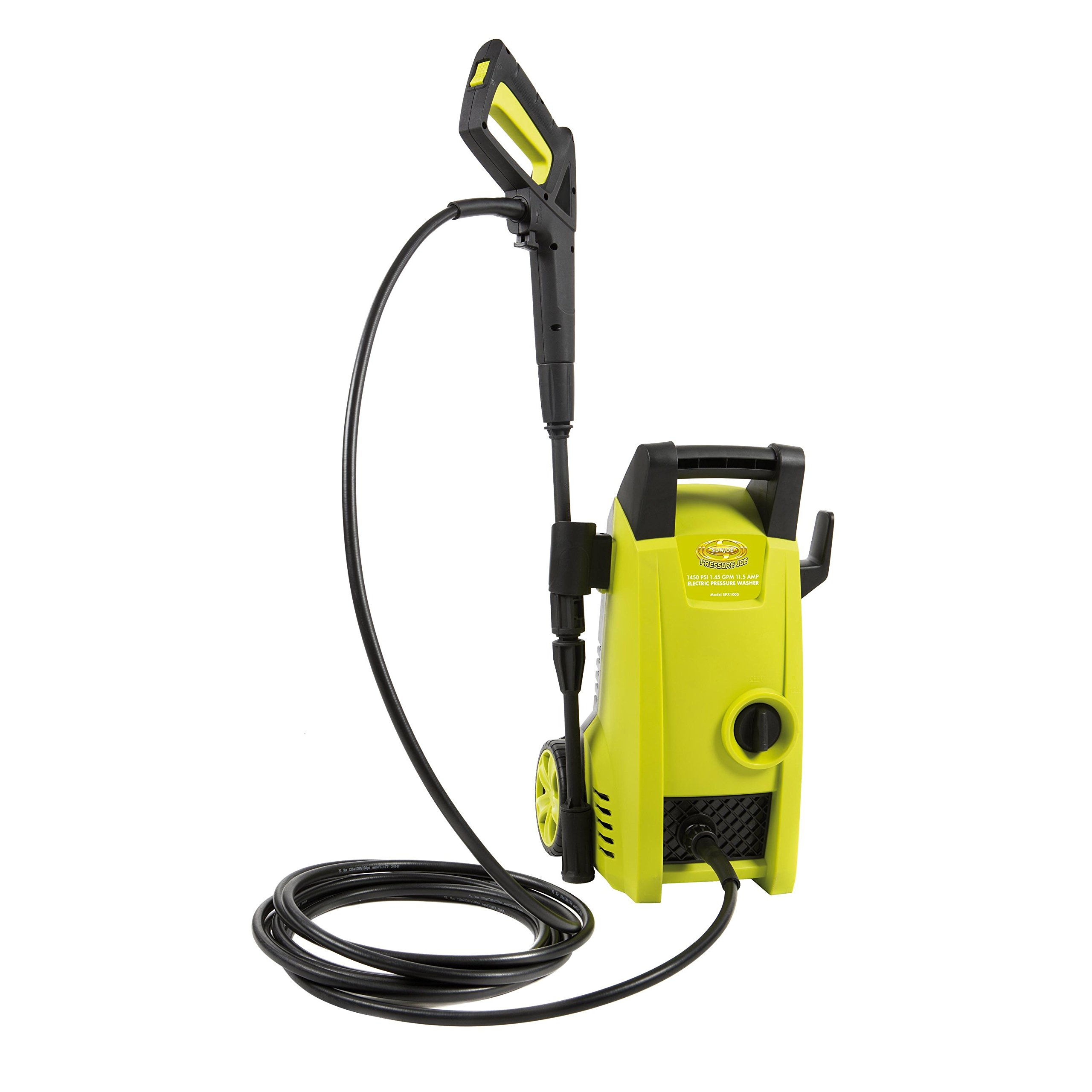 Sun Joe SPX1000-RM Pressure Joe 1450 PSI 1.45 GPM 11.5-Amp Electric Pressure Washer