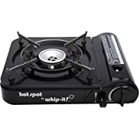 Whip-it! SV-STOVE-05 Hot Spot Butane Stove, Black