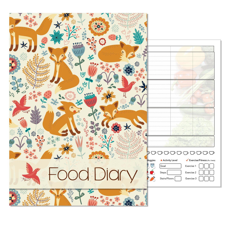 A5Slimming Diary, Ernährung Diary, Lebensmittel Log Tagebuch, Slimming Club, geben ihre eigenen Text, Seasonal A A5Slimming Diary Ernährung Diary Fitness & WellBeing