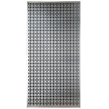M D Building Products 57322 Decorative Elliptical Aluminum Sheet