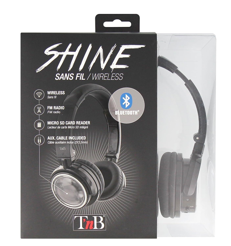 TnB Auriculares 4 en 1 - Inalámbricos con Bluetooth 2.1 + EDR, Lector de Tarjeta Micro SD y Radio FM Integrada: Amazon.es: Electrónica