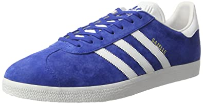 the latest 908b7 ec118 adidas Unisex-Erwachsene Gazelle S76227 Low-Top Blau (Collegiate RoyalWhite