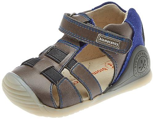 390ab2b39 Garvalin Toledo Boys First Rip Tape Sandals 3.5 20 Dark Anthracite