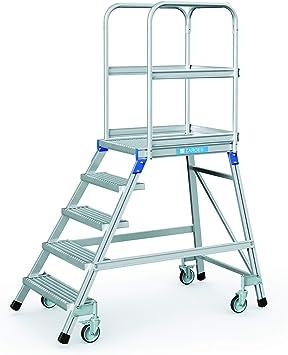 Zarges escalera, por un lado 5 niveles Z600: Amazon.es: Bricolaje y herramientas