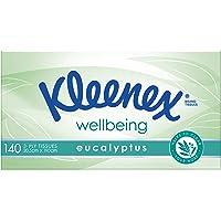 KLEENEX Special Care Eucalyptus Facial Tissues, 140 sheets
