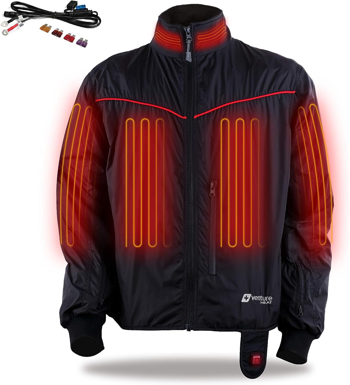 Gerbing Heated Jacket Liner 12V Motorcycle Gear 7 Heat Zones