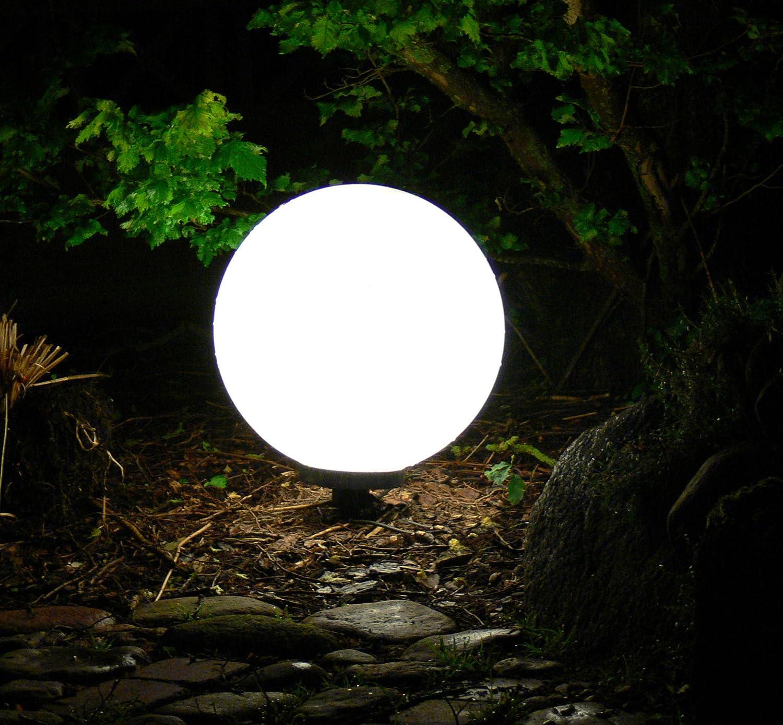 Kugellampen 40cm+50cm Set Kugelleuchte Gartenkugel IP44