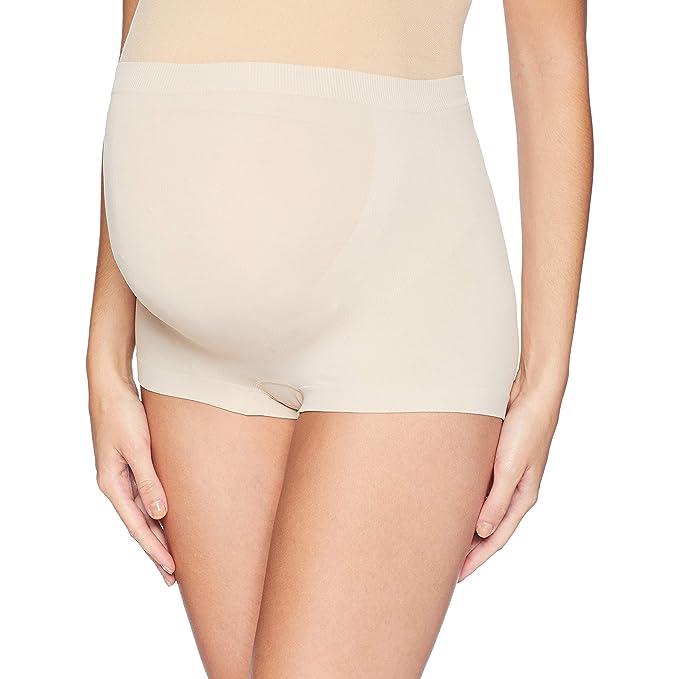 6f8fa1c8a47c8 Annette Women s Soft   Seamless Pregnancy Panty - Boyshort at Amazon ...