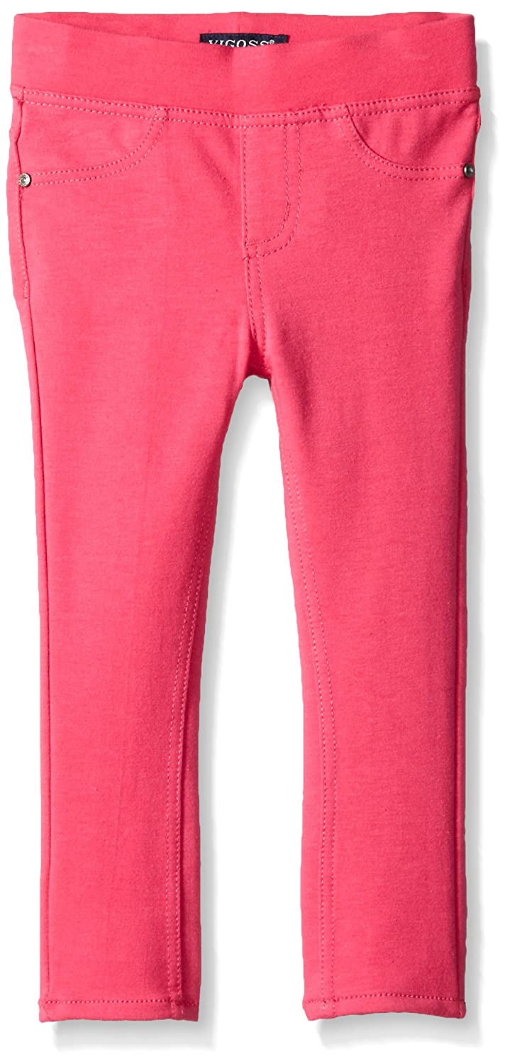 VIGOSS Girls' 5 Pocket Classic Pull on Skinny Jean Vigoss Children's Apparel
