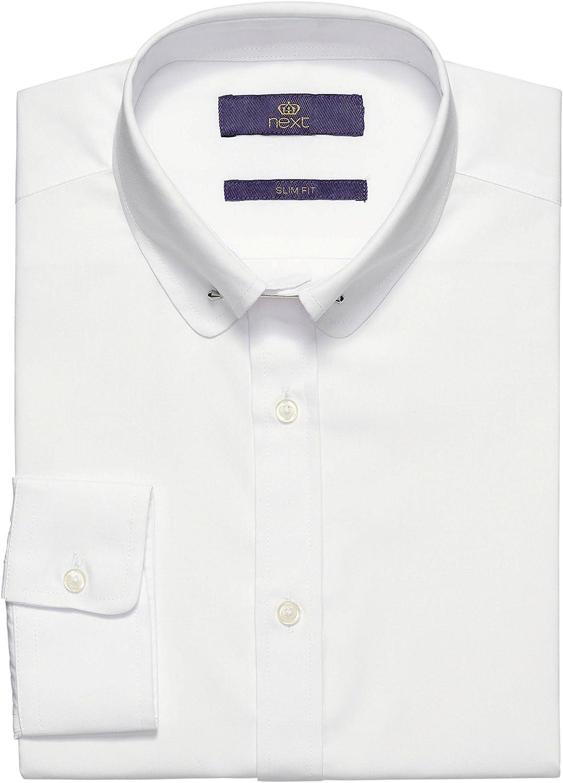 next Camisa de algodón para Hombre con Cuello Piccadilly - Slim ...