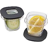 Rubbermaid Premier food almacenamiento con Tritan plástico y fácil tapas fina