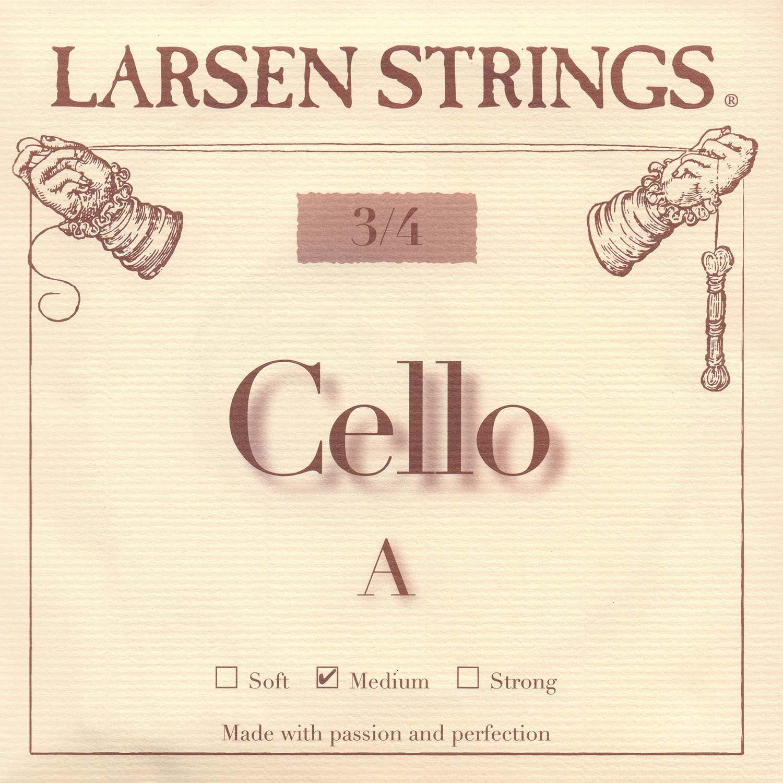 Larsen 3/4 Cello A String Medium Alloy-Steel Lar-3918