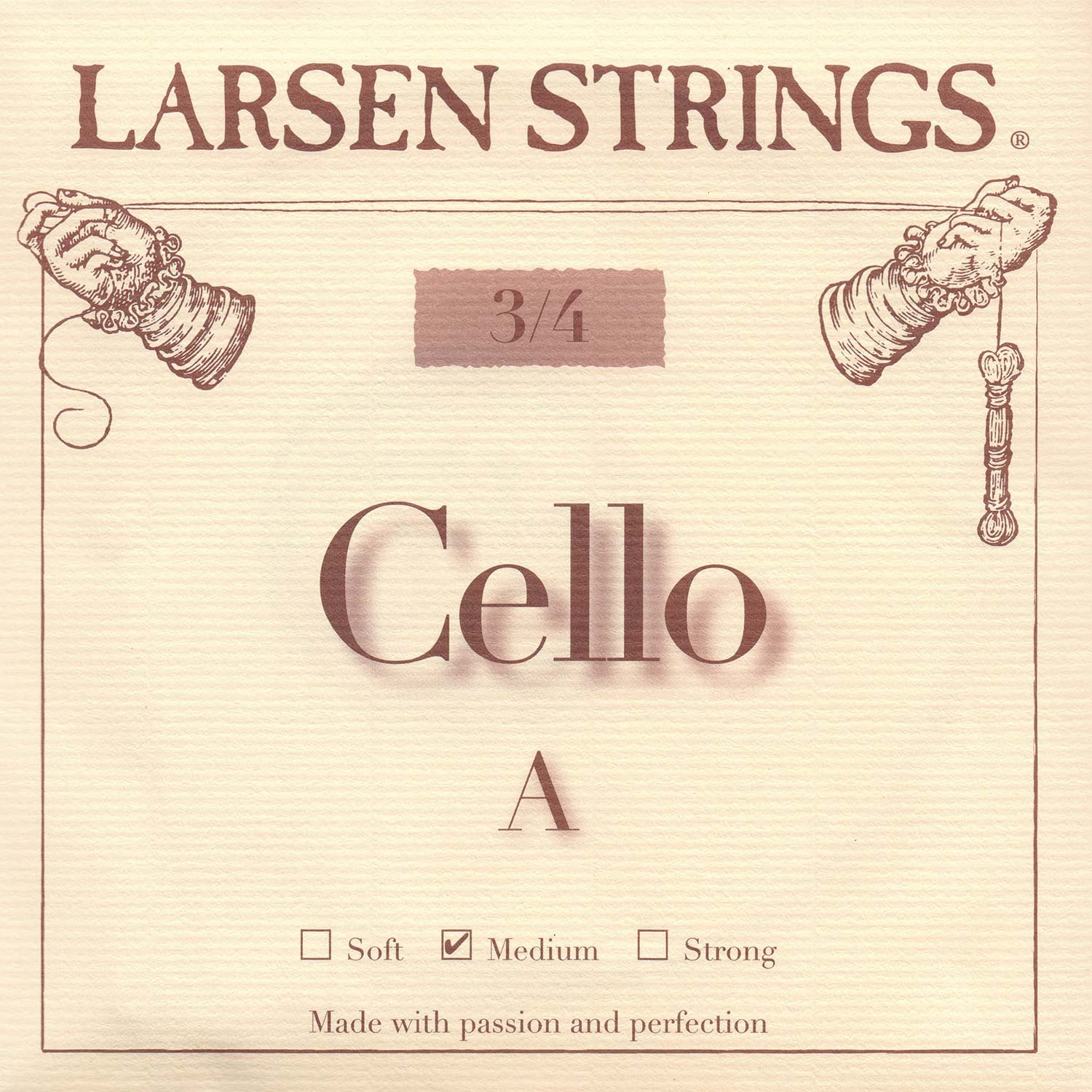 Larsen 3/4 Cello A String Medium Alloy-Steel
