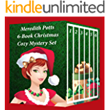 Meredith Potts 6-Book Christmas Cozy Mystery Set