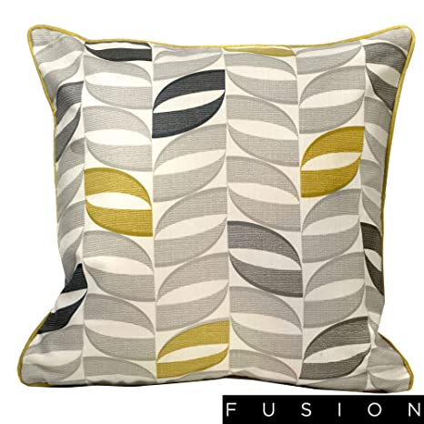 Fusion Funda de cojín Copeland-100% algodón, Color Ocre, 43 ...