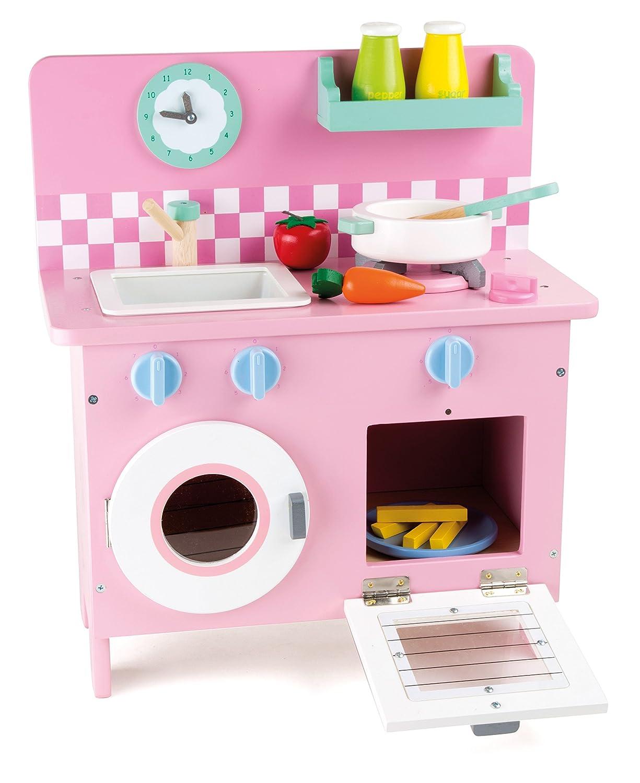 Kinderküche mit Waschmaschine - Legler Küche Rosali