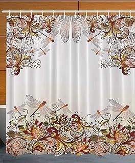 Creative Bath Products Dragonfly Shower Curtain Hooks 12 Count DGF83CHR