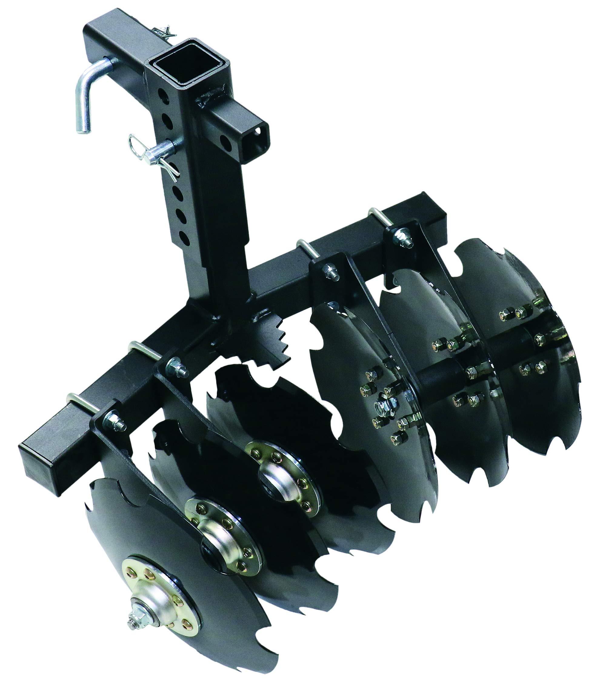 Battle Armor Designs 6-Disk Big Buck ATV/UTV 2'' Receiver Plow by Battle Armor (Image #1)