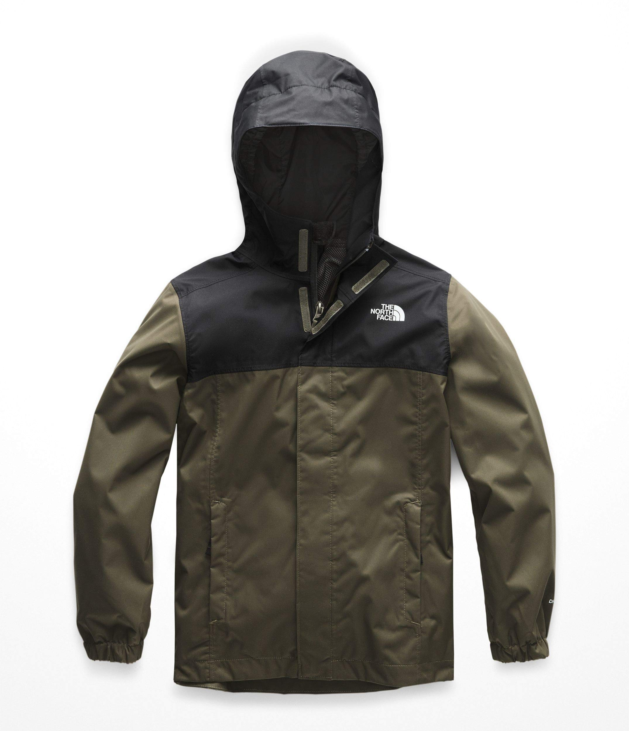 The North Face Boys Resolve Reflective Jacket - New Taupe Green - XL