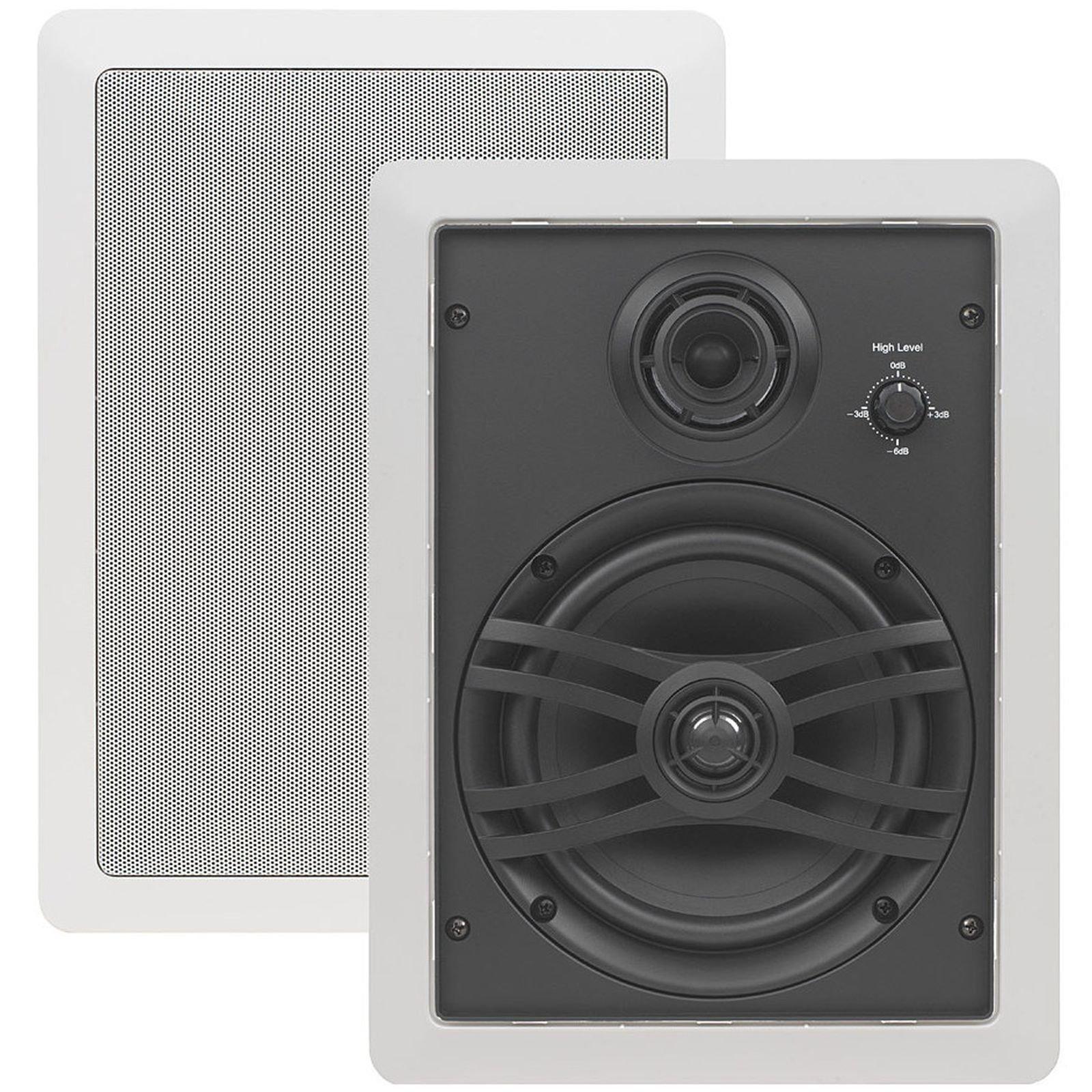 Yamaha Corporation of America NSIW470WH 3-Way Speaker (White, Pair)