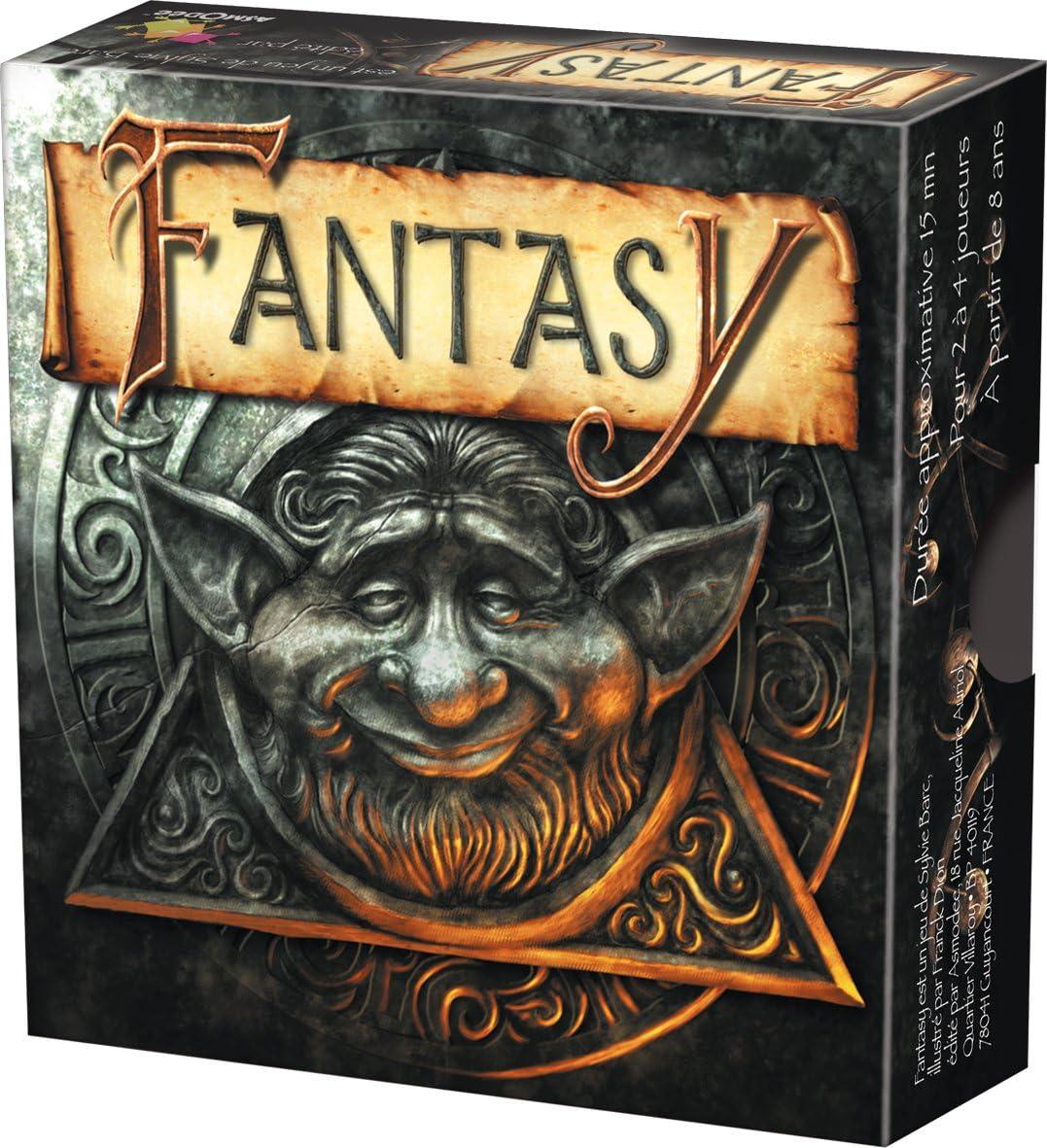 fantasy jeu de carte Asmodee   KG03   Jeu de Cartes   Fantasy: Amazon.fr: Jeux et Jouets