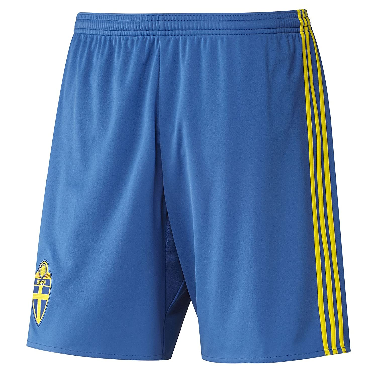 Adidas Sweden 2016-17 Football Kids Home Shorts - 11to12 Years AA0451
