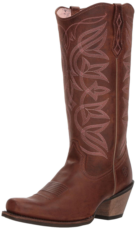 Ariat Women's Sheridan Western Boot B076MCXS97 10 M US|Sassy Brown