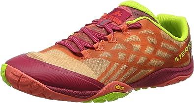 Merrell Trail Glove 4, Zapatillas de Running para Asfalto para Mujer, Naranja (Fruit Punch), 42 EU: Amazon.es: Zapatos y complementos