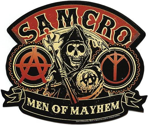 Sons Of Anarchy Men Of Mayhem Sticker: Amazon.es: Juguetes y juegos