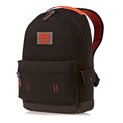 Superdry Montana Backpack Sports Bag Dark Grey Marl - Dark Grey Marl - UK  SIZE 1 55e80566896a6