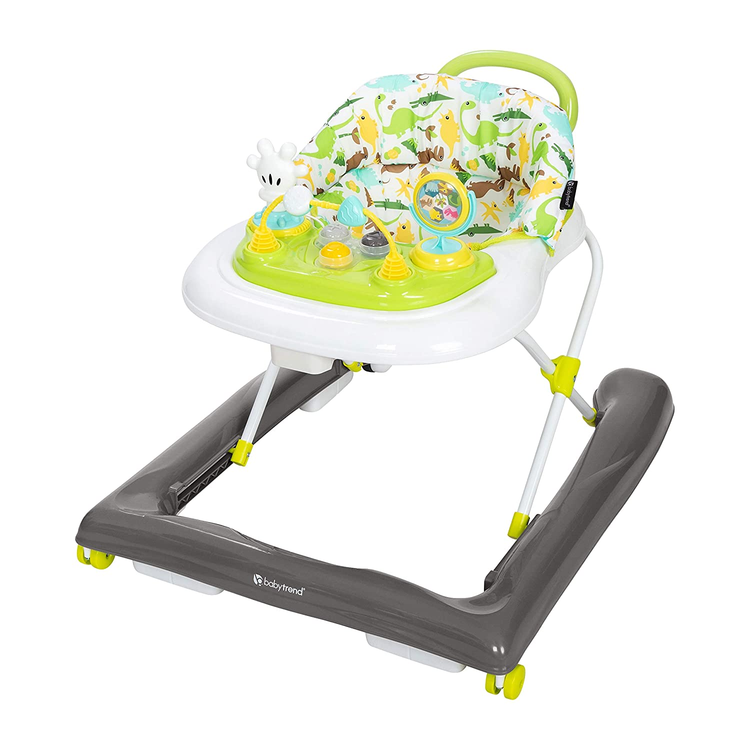 Baby Trend activity walker for girl boy with wheels toys chair Walk behind tray
