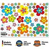 Sticker Fleurs Flower power de Forêt de fleurs–Sticker pour voiture, Roller, vélo
