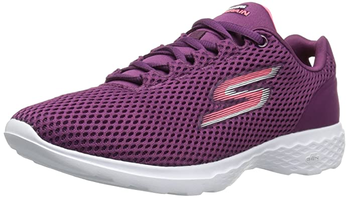 Skechers Damen Go Train Hype Sneaker, violett