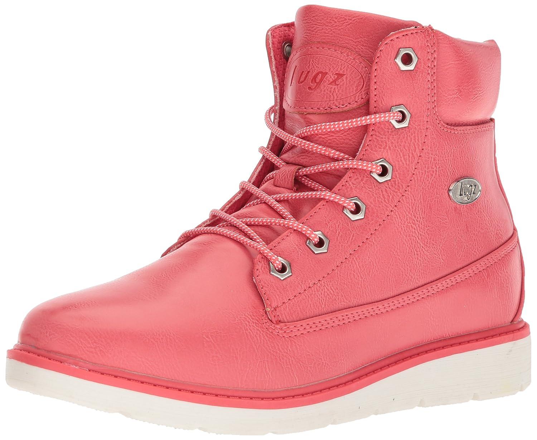 Lugz Women's Quill Hi Fashion Boot B073JXV6LC 9.5 B(M) US|Coral/White