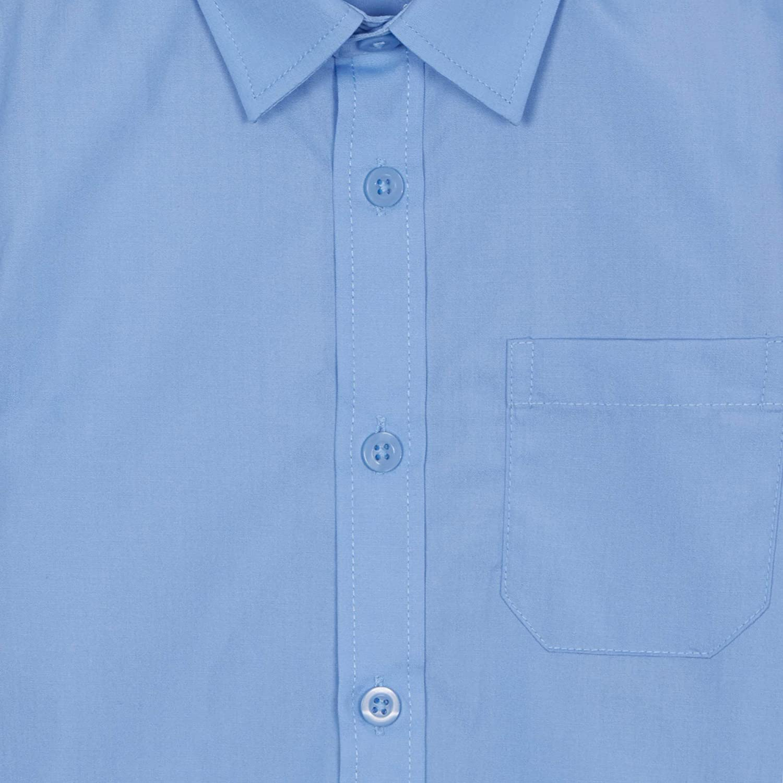 Debenhams Kids Set of 2 Boys Blue Regular Fit School Shirts Age 8