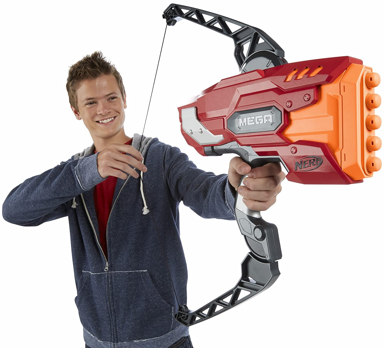 Buy Nerf Mega Thunder Bow Blaster Online at Low Prices in India - Amazon.in