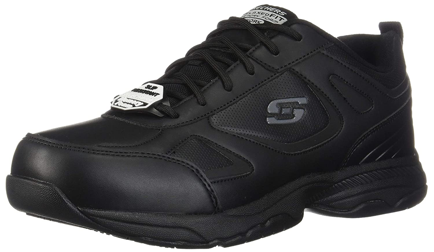 Skechers Work Men's Dighton Work schuhe,schwarz,7.5 M US