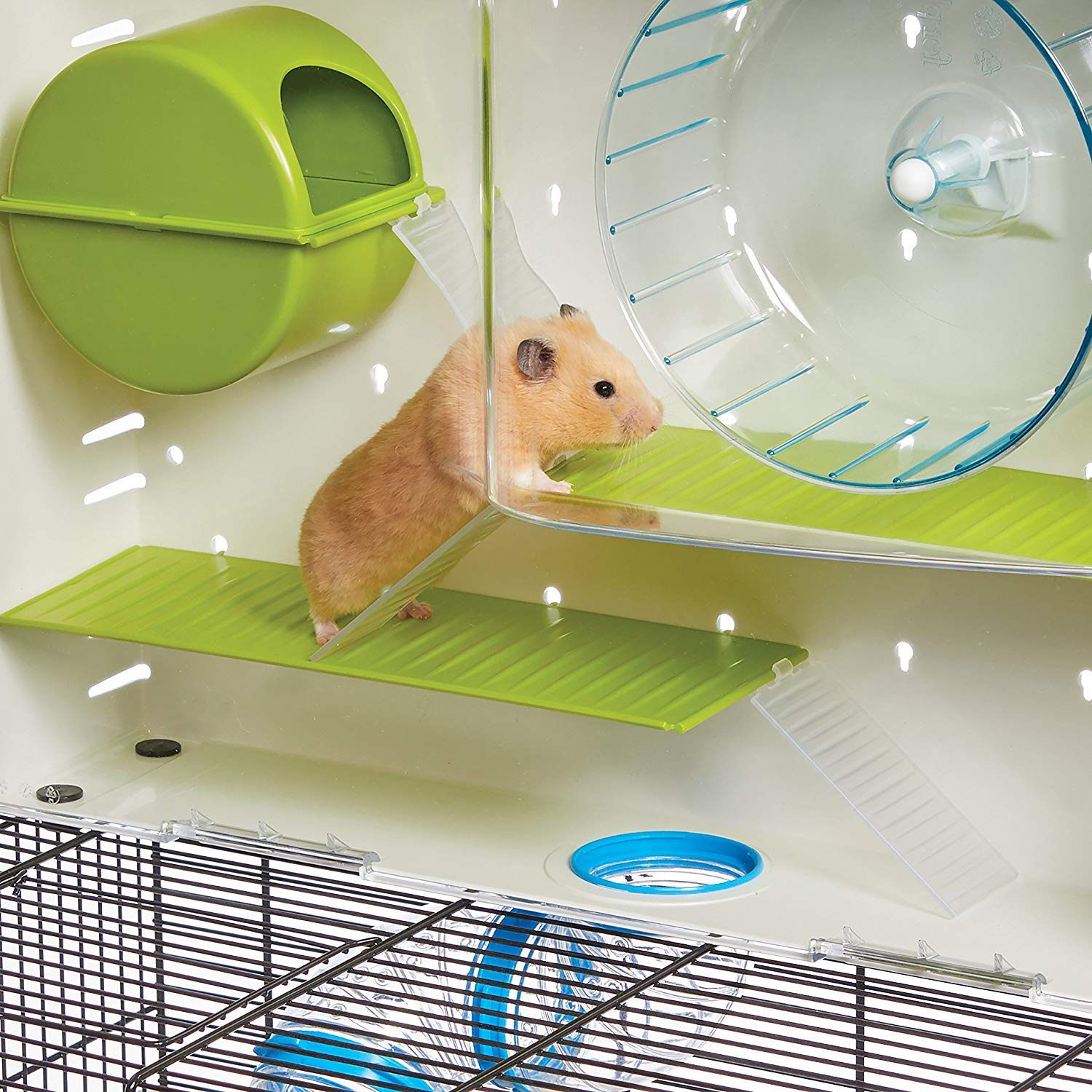 MidWest Homes for Pets Hamster Cage | Awesome Arcade Hamster Home | 18.11'' x 11.61'' x 21.26'' by MidWest Homes for Pets (Image #4)