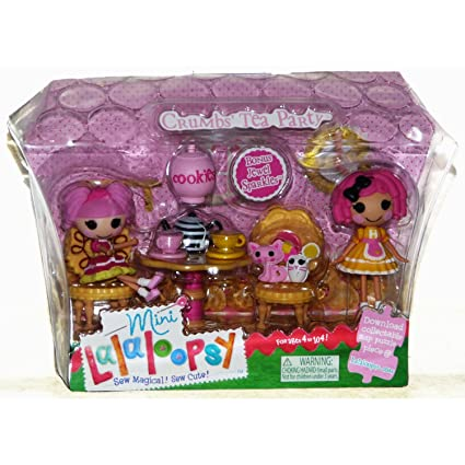 MGA Mini Lalaloopsy Crumbs Tea Party with Bonus Mini Jewel Sparkles (2 Dolls)  sc 1 st  Amazon.com & Amazon.com: MGA Mini Lalaloopsy Crumbs Tea Party with Bonus Mini ...