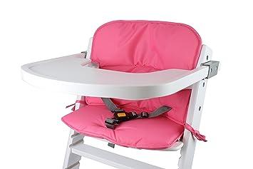 Tinydo Hochstuhl Sitzkissen+ Optimal Für Timba Safety 1st. Und Alle  Gängigen Treppenhochstühle [pink