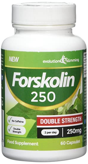 Forskolin 250 Double Strength 250mg 60 Weight Loss Capsules, 60 ...